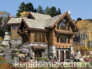 Log Cabin Home Wallpaper__yvt2